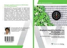 Bookcover of Analyse aspektorientierter Methoden mit Praxisbeispielen