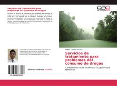 Portada del libro de Servicios de tratamiento para problemas del consumo de drogas