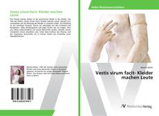 Buchcover von Vestis virum facit- Kleider machen Leute