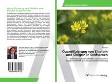 Portada del libro de Quantifizierung von Sinalbin und Sinigrin in Senfsamen