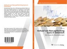 Buchcover von Verkauf von Non-performing loans in Österreich