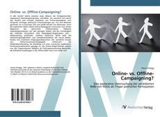 Buchcover von Online- vs. Offline-Campaigning?