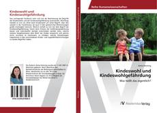 Обложка Kindeswohl und Kindeswohlgefährdung