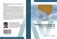 Buchcover von Migrationshintergrund und Psychiatrie Erfahrung