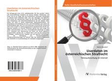 Buchcover von Userdaten im österreichischen Strafrecht