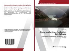 Capa do livro de Kommunikationsstrategien bei Aphasie