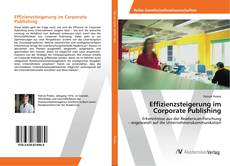 Portada del libro de Effizienzsteigerung im Corporate Publishing