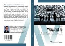 Обложка Management des Unternehmens