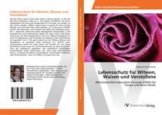 Bookcover of Lebensschutz für Witwen, Waisen und Verstoßene