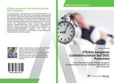 Borítókép a  Effekte exogener Lichtstimulation bei DOC Patienten - hoz