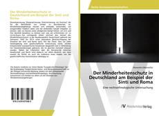 Bookcover of Der Minderheitenschutz in Deutschland am Beispiel der Sinti und Roma