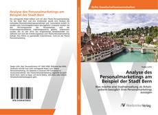 Bookcover of Analyse des Personalmarketings am Beispiel der Stadt Bern