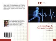 Couverture de La terminologie de l'anatomie humaine