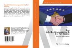 Capa do livro de Das Selbstbestimmungsrecht: Der Fall Kosovo