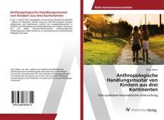 Capa do livro de Anthropologische Handlungsmuster von Kindern aus drei Kontinenten