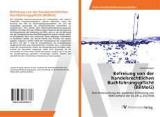 Buchcover von Befreiung von der handelsrechtlichen Buchführungspflicht (BilMoG)