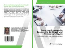 Couverture de Prozessoptimierung im Engineering der Einzel- und Kleinserienfertigung