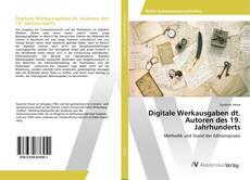 Copertina di Digitale Werkausgaben dt. Autoren des 19. Jahrhunderts