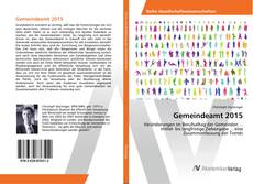 Bookcover of Gemeindeamt 2015
