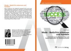 Bookcover of Mode - Bedürfnis erkennen und handeln