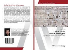Le Roi David von A. Honegger的封面
