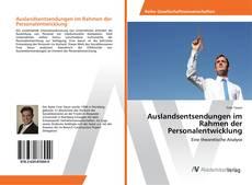 Bookcover of Auslandsentsendungen im Rahmen der Personalentwicklung