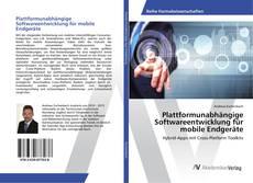 Buchcover von Plattformunabhängige Softwareentwicklung für mobile Endgeräte