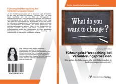 Couverture de Führungskräftecoaching bei Veränderungsprozessen