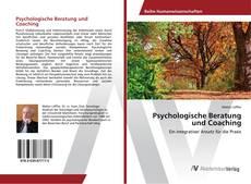 Psychologische Beratung und Coaching kitap kapağı
