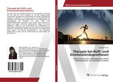 Buchcover von Therapie bei Hüft- und Knietotalendoprothesen