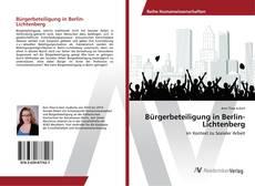 Portada del libro de Bürgerbeteiligung in Berlin-Lichtenberg