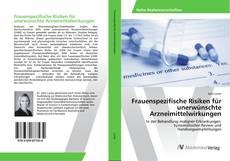Borítókép a  Frauenspezifische Risiken für unerwünschte Arzneimittelwirkungen - hoz