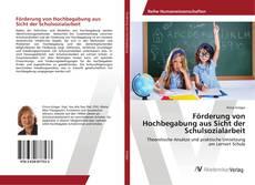 Buchcover von Förderung von Hochbegabung aus Sicht der Schulsozialarbeit