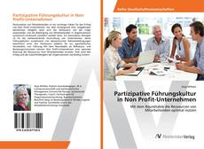 Portada del libro de Partizipative Führungskultur in Non Profit-Unternehmen