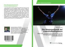 Capa do livro de Die Atemmechanik bei Lizenzfußballspielern