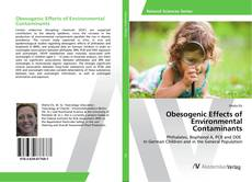 Buchcover von Obesogenic Effects of Environmental Contaminants