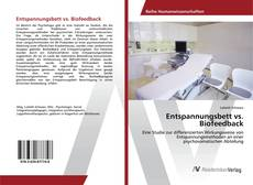 Обложка Entspannungsbett vs. Biofeedback