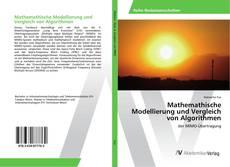Capa do livro de Mathemathische Modellierung und Vergleich von Algorithmen