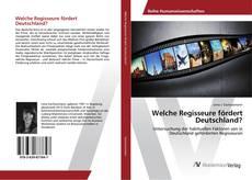 Bookcover of Welche Regisseure fördert Deutschland?