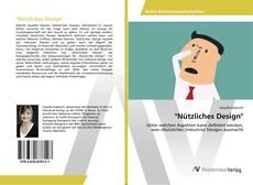 """""""Nützliches Design"""" kitap kapağı"""