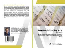 Portada del libro de Das Wunderkind Ferruccio Busoni