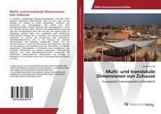 Bookcover of Multi- und translokale Dimensionen von Zuhause