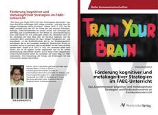 Bookcover of Förderung kognitiver und metakognitiver Strategien im FABE-Unterricht