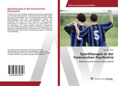 Buchcover von Sporttherapie in der forensischen Psychiatrie
