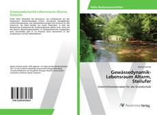 Bookcover of Gewässedynamik-Lebensraum Altarm, Steilufer
