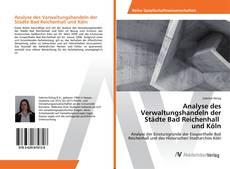 Capa do livro de Analyse des Verwaltungshandeln der Städte Bad Reichenhall und Köln