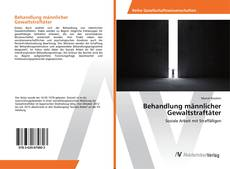 Portada del libro de Behandlung männlicher Gewaltstraftäter