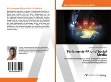 Buchcover von Parlaments-PR und Social Media