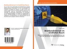 Buchcover von Breitbandinternet im ländlichen Raum