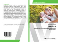 Buchcover von Vitamin D